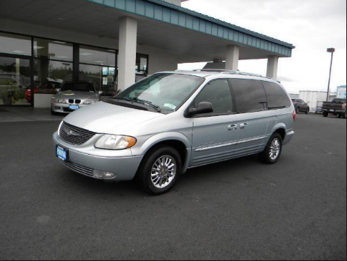 2001 Chrysler Town & Country Owners Manual