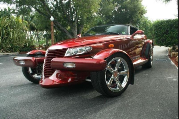 2002 Chrysler Prowler Owners Manual