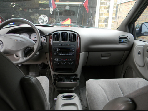 2002 Chrysler Town & Country Interior and Redesign