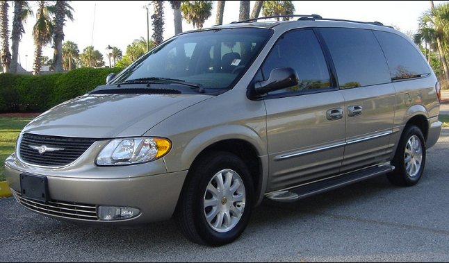 2002 Chrysler Town & Country Owners Manual