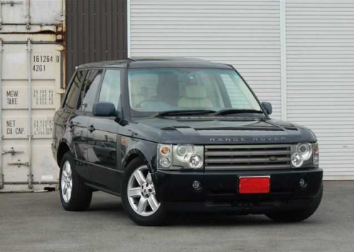 2003 Land Rover Range Rover Owners Manual