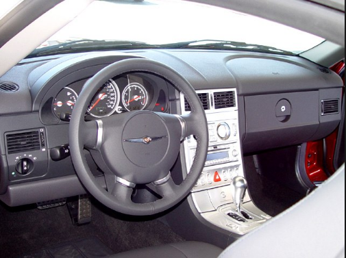 2004 Chrysler Crossfire Interior and Redesign