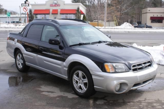 2004 Subaru Baja Owners Manual