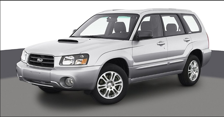 2004 Subaru Forester Owners Manual