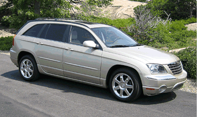 2005 Chrysler Pacifica Owners Manual