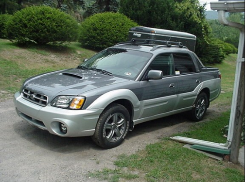2005 Subaru Baja Owners Manual