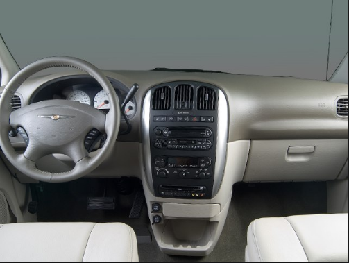 2006 Chrysler Town & Country Interior and Redesign