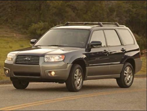 2007 Subaru Forester Owners Manual