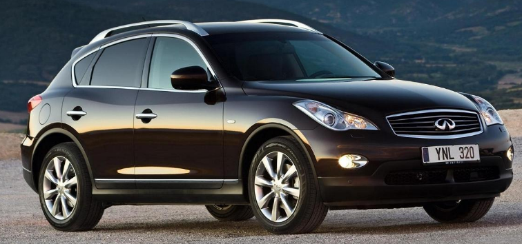 2009 Infiniti EX Owners Manual