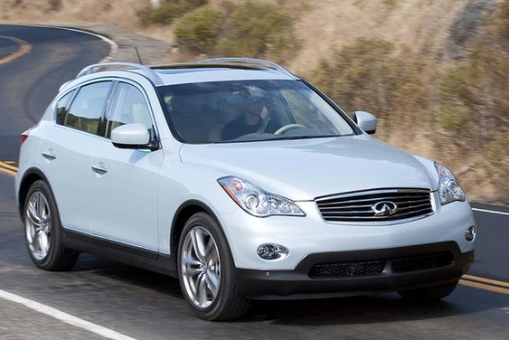 2010 Infiniti EX Owners Manual