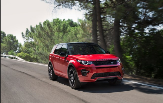 2017 Land Rover Discovery Sports Owners Manual