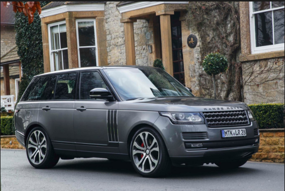 2017 Land Rover Range Rover Owners Manual