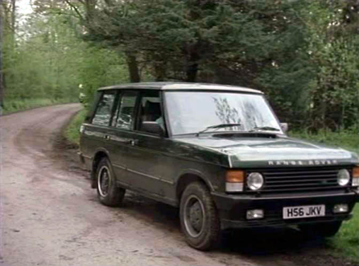 1990 Land Rover Range Rover Owners Manual