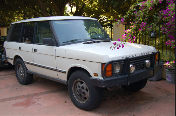 1991 Land Rover Range Rover Owners Manual