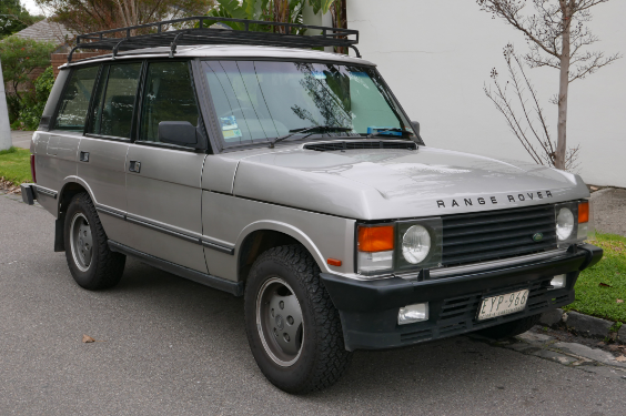 1992 Land Rover Range Rover Owners Manual