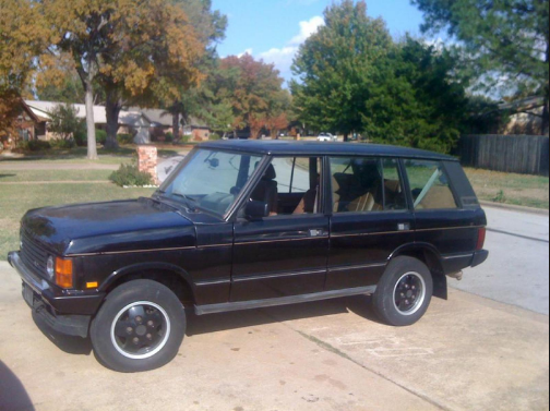 1993 Land Rover Range Rover Owners Manual
