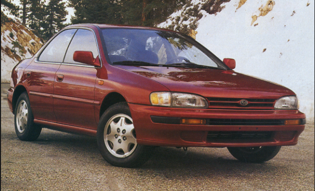 1993 Subaru Impreza Owners Manual
