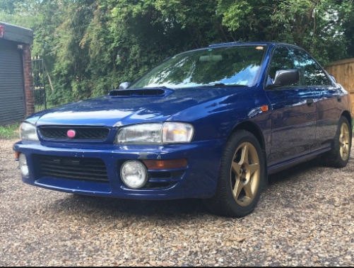 1996 Subaru Impreza Owners Manual