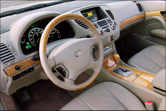 2002 Infiniti Q45 Interior and Redesign