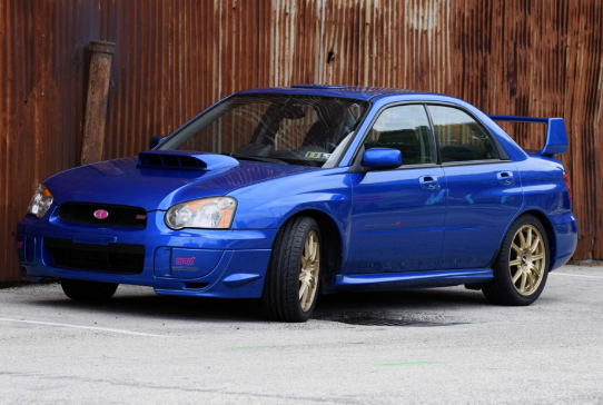 2004 Subaru Impreza Owners Manual