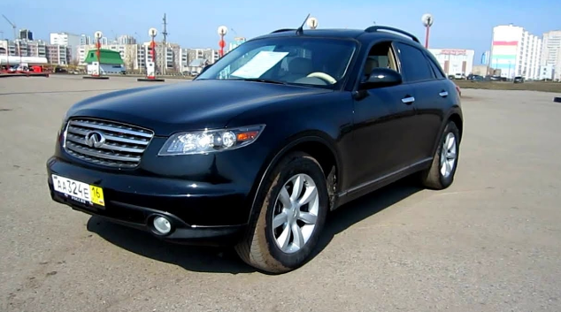 2005 Infiniti FX Owners Manual and Concept