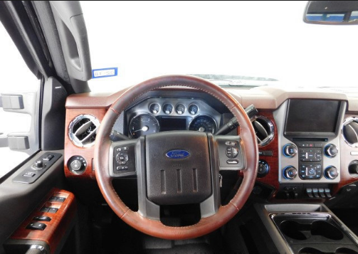 2013 Ford F-250 Interior and Redesign