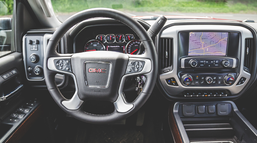 2015 GMC Sierra HD Interior and Redesign