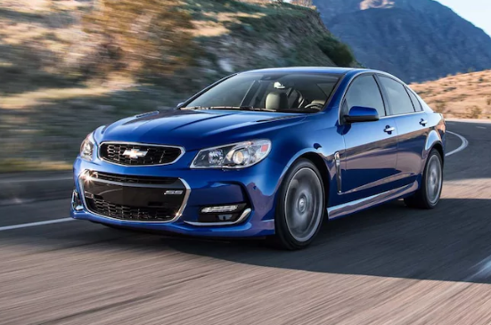 2017 Chevrolet SS Owners Manual