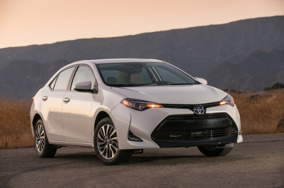 2017 Toyota Corolla Owners Manual
