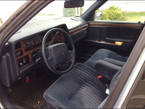 1992 Chrysler New Yorker Interior and Redesign