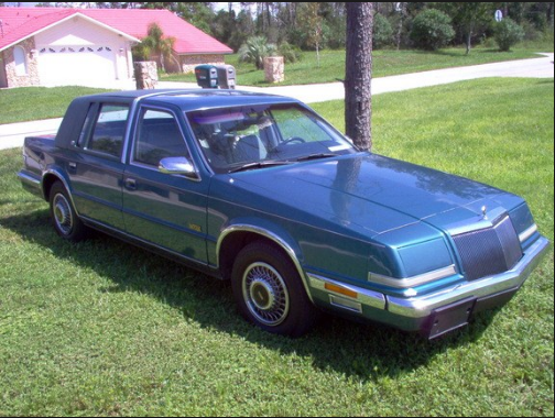 1993 Chrysler Imperial Owners Manual