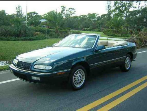 1994 Chrysler LeBaron Owners Manual