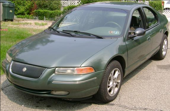 1995 Chrysler Cirrus Owners Manual