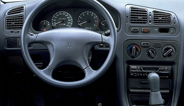 1995 Mitsubishi Galant Interior and Redesign