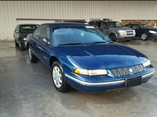 1996 Chrysler Concorde Owners Manual