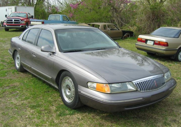 1996 Lincoln Continental Owners Manual