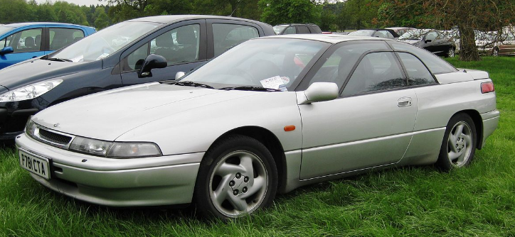 1996 Subaru SVX Owners Manual