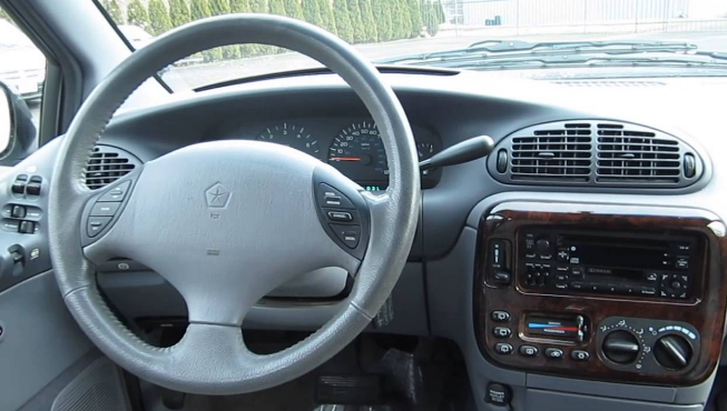 1997 Chrysler Town and Country Interior and Redesign