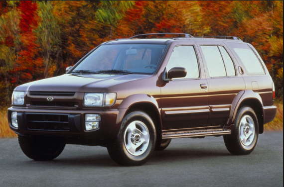1997 Infiniti QX4 Owners Manual