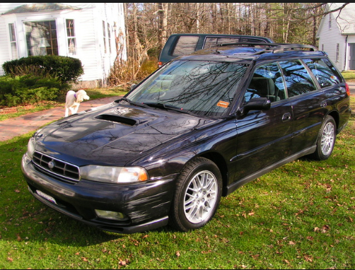 1997 Subaru Legacy Owners Manual