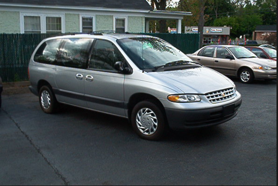 2000 Chrysler Grand Voyager Owners Manual