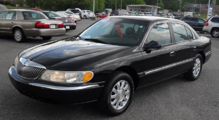 2000 Lincoln Continental Owners Manual
