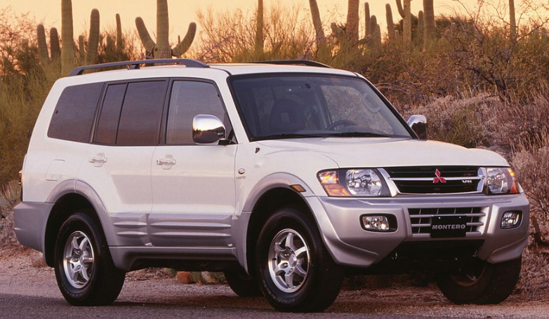 2001 Mitsubishi Montero Owners Manual