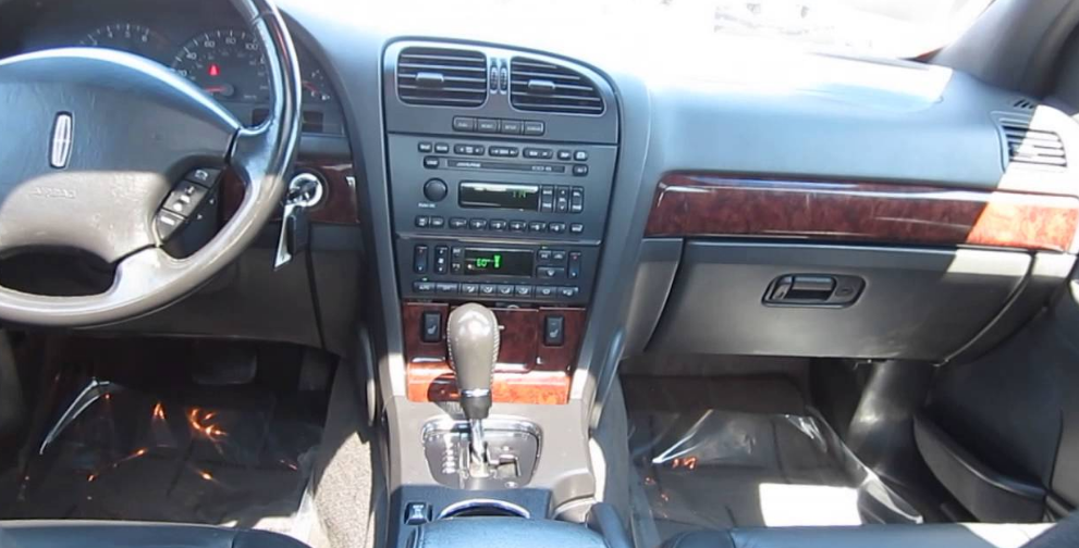 2002 Lincoln LS Interior and Redesign