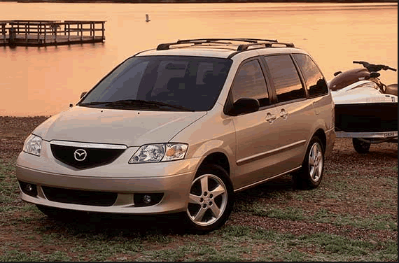2002 Mazda MPV Owners Manual