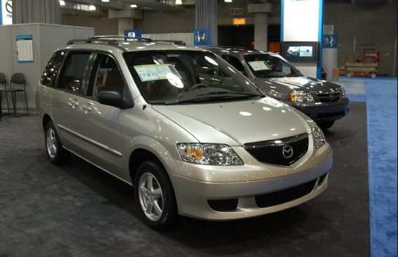 2003 Mazda MPV Owners Manual