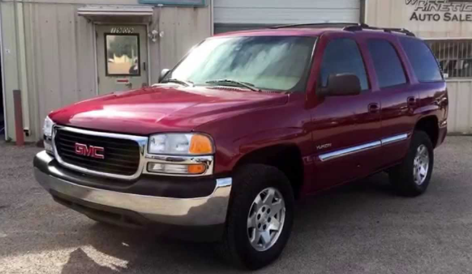 2004 GMC Yukon Owners Manual