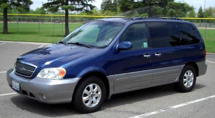 2004 Kia Sedona Owners Manual