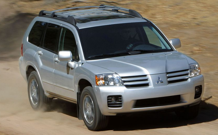 2004 Mitsubishi Endeavor Owners Manual