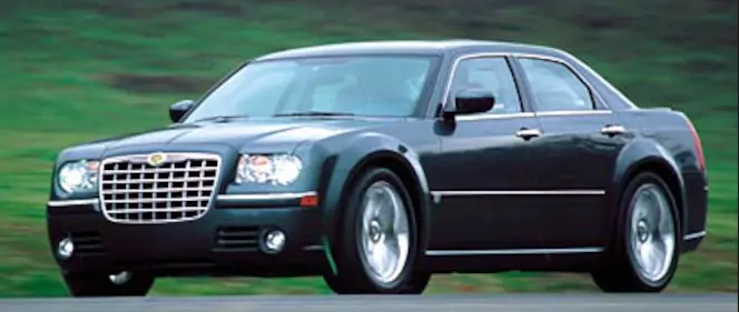 2005 Chrysler 300C Owners Manual